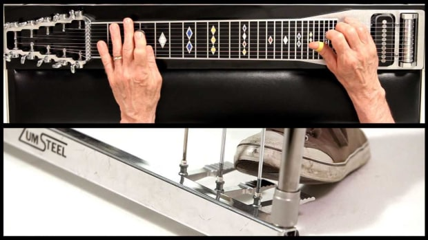 V. How to Use the B Pedal on a Steel Guitar Promo Image