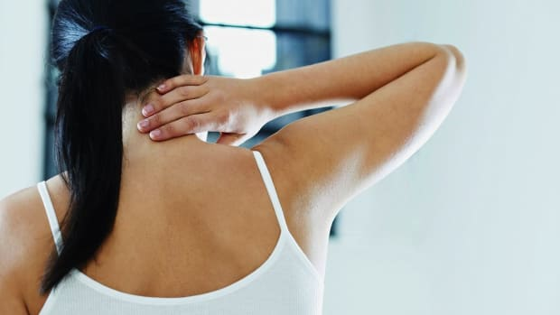 R. What Causes Neck Pain? Promo Image