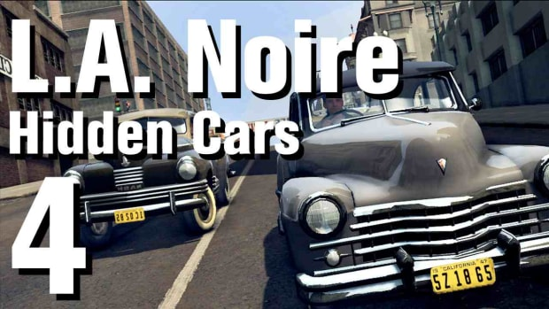"D. L.A. Noire Walkthrough Hidden Cars 04: ""Cord 810 Softtop"" Promo Image"