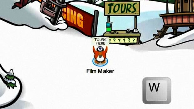 A. How to Give Tours on Club Penguin Promo Image