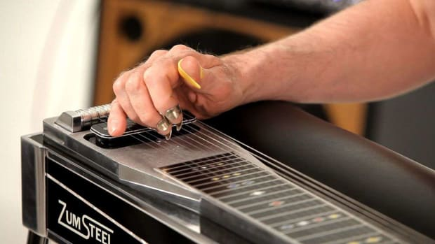 F. Pedal Steel Guitar Strings Promo Image