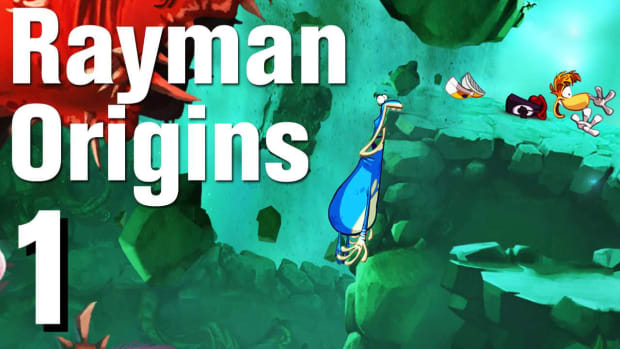 A. Rayman Origins Walkthrough 1-1: It's a Jungle Out There... Promo Image