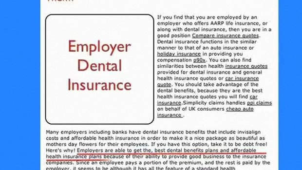 E. How to Get Dental Insurance Promo Image