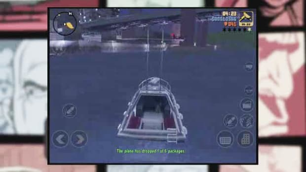 ZJ. GTA3 iOS Walkthrough Part 36 - A Drop in the Ocean Promo Image