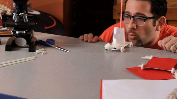 C. How to Make a Car Out of Paper & Candles Promo Image