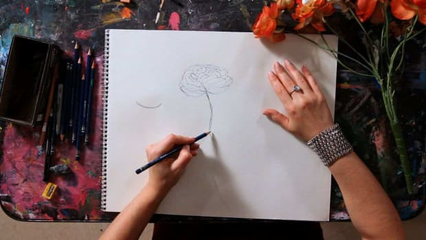 R. How to Draw a Flower Promo Image