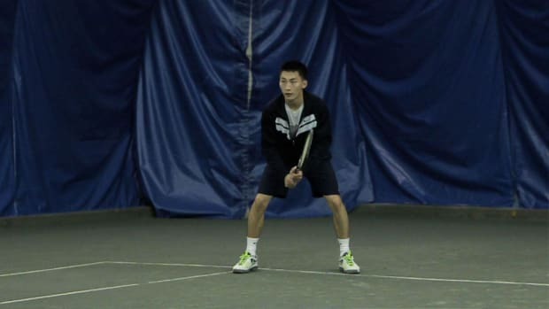 T. How to Return a Serve in Tennis Promo Image