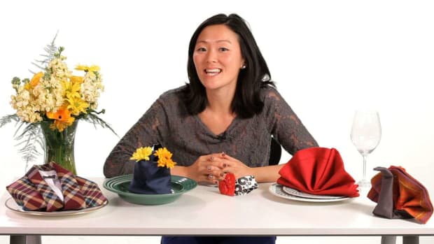 ZN. How to Fold Napkins with Jessie Kaye Promo Image