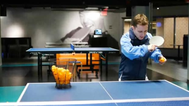 N. How to Do a Backhand Push in Table Tennis aka Ping Pong Promo Image