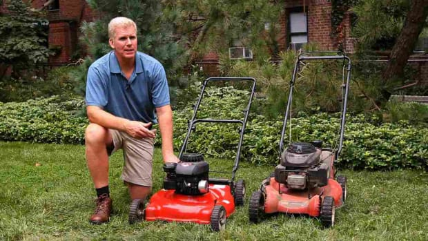 T. How to Pick a Lawn Mower Promo Image