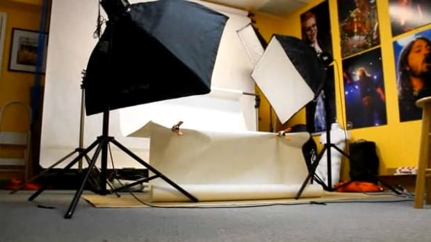 N. How to Set Up a Portrait Studio for Studio Photography Promo Image