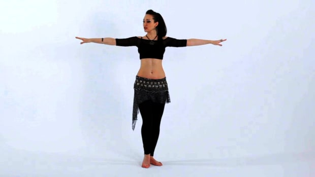 ZP. How to Do Shoulder Isolations in Belly Dancing Promo Image