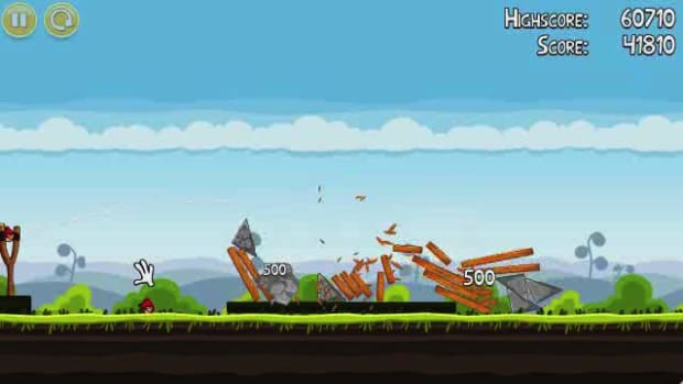 A. Angry Birds Level 4-1 Walkthrough Promo Image