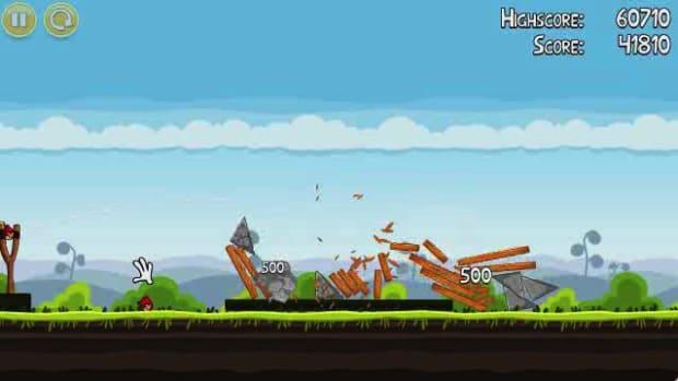 A. Angry Birds Level 4-1 Walkthrough Promo Image