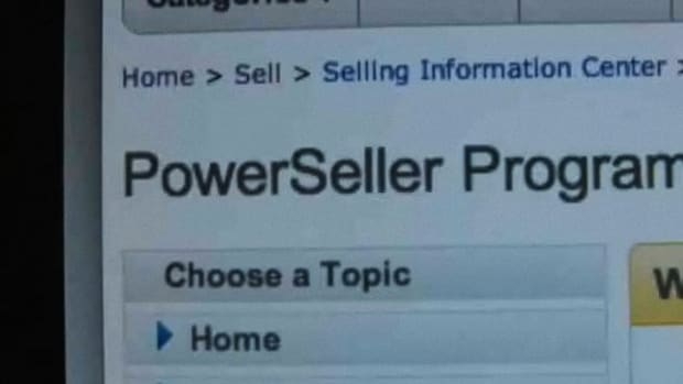 O. How to Become a PowerSeller on eBay Promo Image