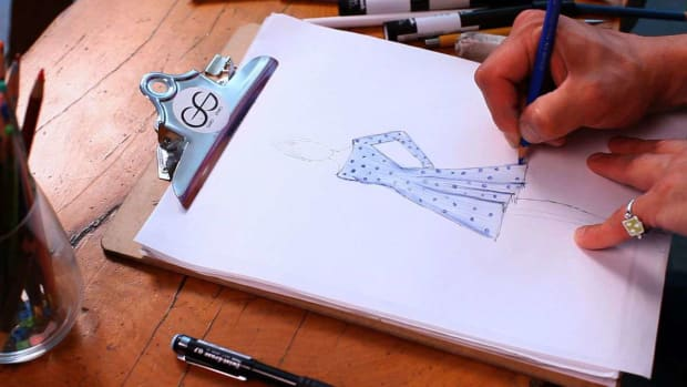 X. How to Draw a Pattern for a Fashion Sketch Promo Image