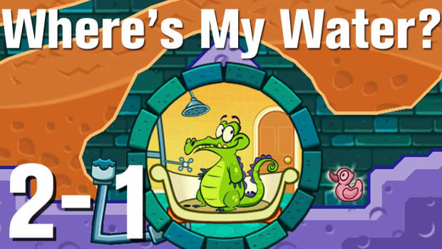 U. Where's My Water Walkthrough Level 2-1 Promo Image