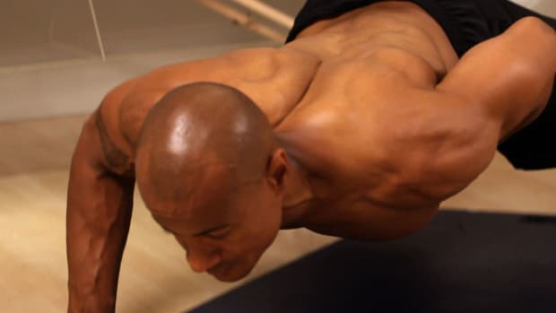 K. How to Do a One-Arm Push-Up Promo Image