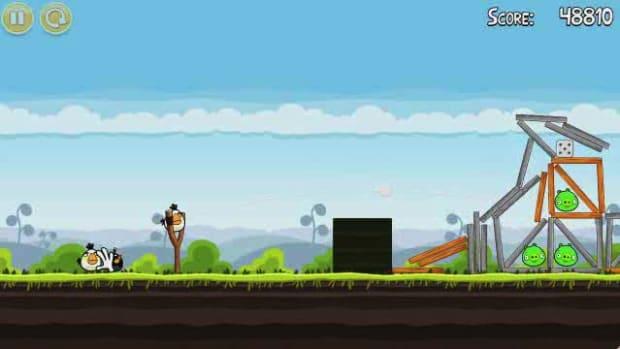 T. Angry Birds Level 4-20 Walkthrough Promo Image