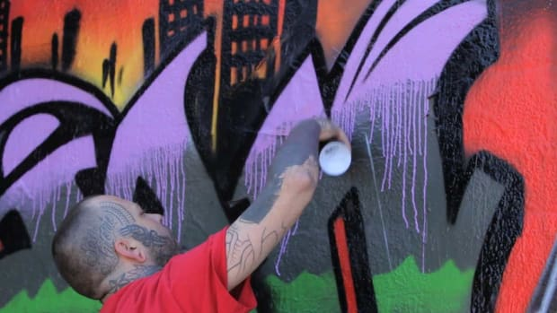 N. Graffiti Coloring Tips Promo Image