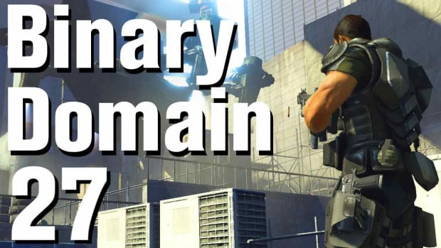 ZA. Binary Domain Walkthrough Part 27 - Refuse and Resist Promo Image
