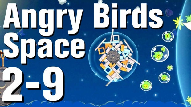 ZM. Angry Birds: Space Walkthrough Level 2-9 Promo Image