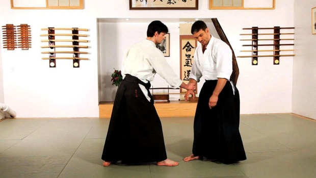 S. How to Do Ikkyo in Aikido Promo Image