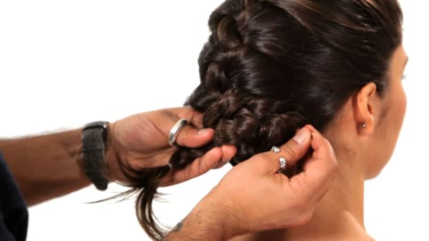 E. How to Turn a Braid into an Updo Promo Image