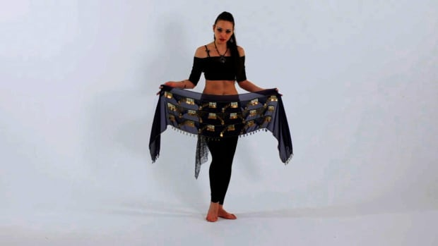 G. How to Use a Belly Dancing Hip Scarf Promo Image