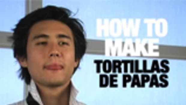 C. How to Make Tortilla De Papas Promo Image