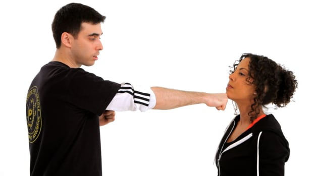 D. How to Do a Chin Jab in Self-Defense Promo Image