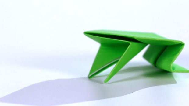 W. How to Make an Origami Frog Promo Image