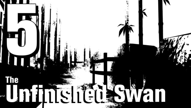 E. The Unfinished Swan Walkthrough Part 5 - Chapter 1 Promo Image
