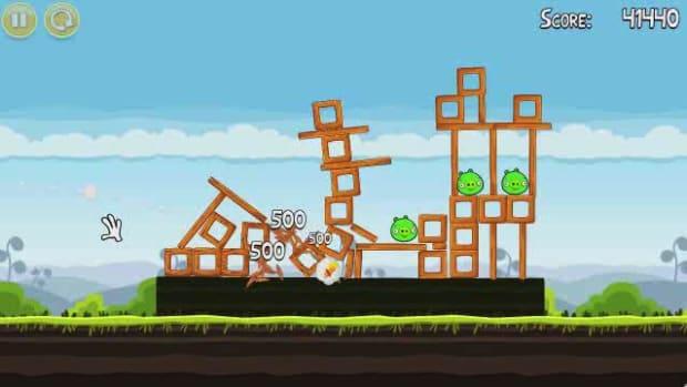 L. Angry Birds Level 4-12 Walkthrough Promo Image