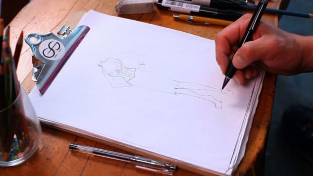 S. How to Draw Shoes for a Fashion Sketch Promo Image