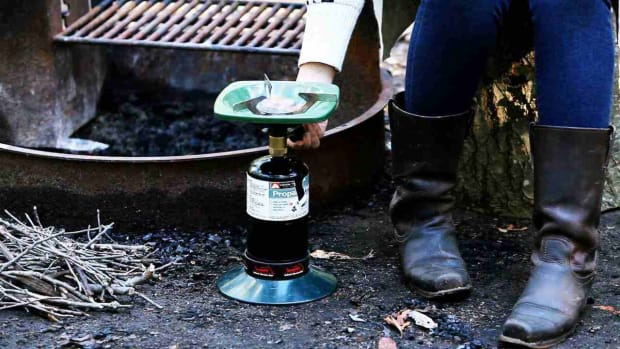 T. How to Use a Camp Stove Promo Image