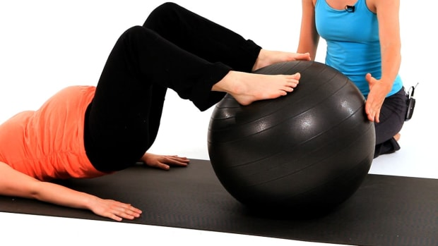 G. How to Do a Prenatal Workout with an Exercise Ball Promo Image