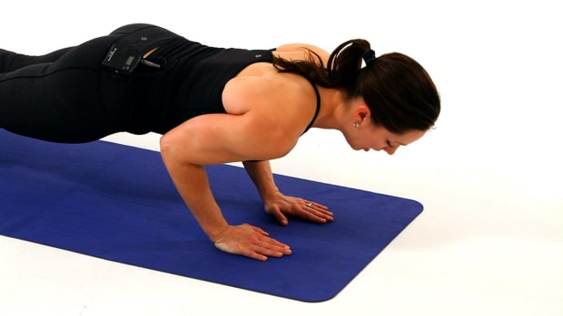 J. How to Do a Close Grip Push-Up for a Boot Camp Workout Promo Image
