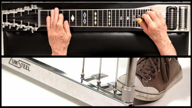 U. How to Use the A Pedal on a Steel Guitar Promo Image