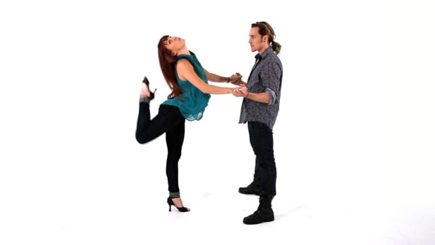 Q. Swivel & Flick Latin Dance Moves for Ladies Promo Image