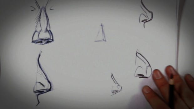C. How to Draw a Nose Promo Image