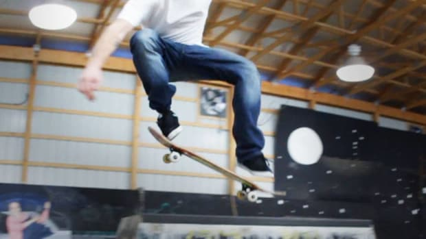 N. How to Do a Nollie on a Skateboard Promo Image
