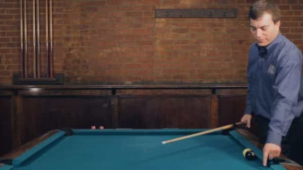 "ZN. How to Make the ""Time Shot Bank"" Pool Trick Shot Promo Image"