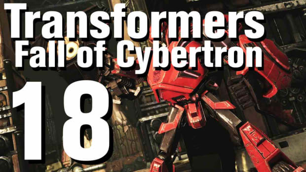 R. Transformers Fall of Cybertron Walkthrough Part 18 - Chapter 6 Promo Image
