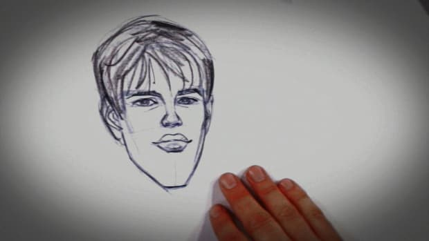 K. How to Draw Justin Bieber Promo Image