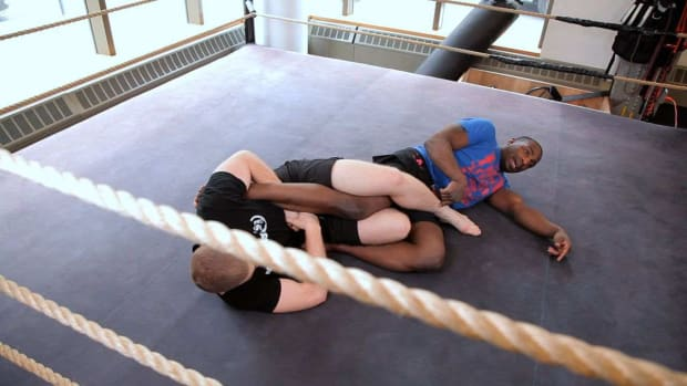 U. How to Defend against an Ankle Lock Leg Lock Promo Image