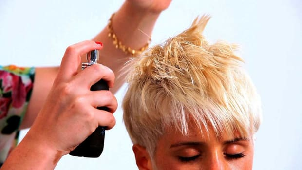 ZC. How to Style a Pixie Haircut with Long Bangs Promo Image