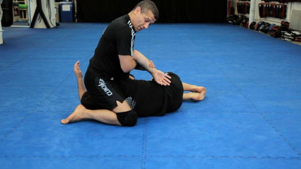 J. How to Do a Kimura from Kneeling North South MMA Submission Promo Image