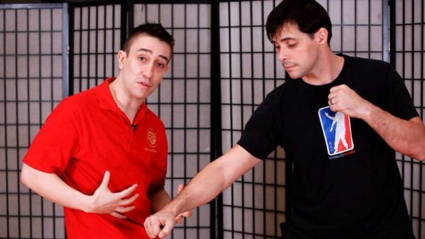 P. How to Do a Gang Sau aka Splitting Hand in Wing Chun Promo Image