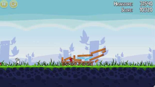 A. Angry Birds Level 1-1 Walkthrough Promo Image